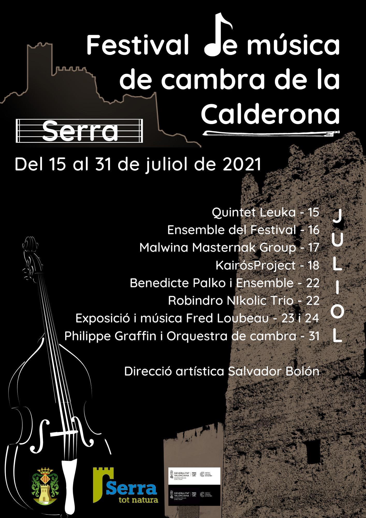 Serra acull el Festival de Música de Cambra de la Calderona
