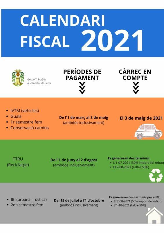 calendari fiscal vlcia póster